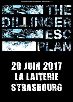 the dillinger escape plan warsawwasraw god mother strasbourg laiterie