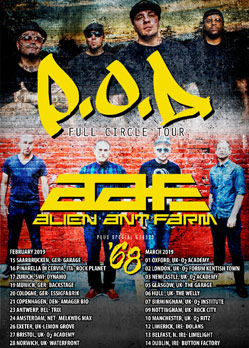 POD Alien Ant Farm Saarbrucken Garage