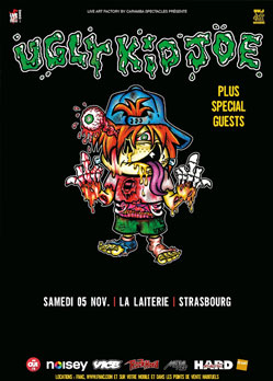 Ugly Kid Joe Dallas Frasca Strasbourg Laiterie